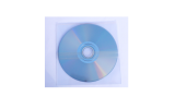 CD DVD in PVC Sleeve with 1 adhesive strip