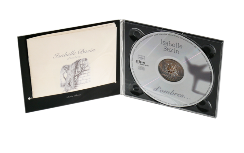 digipak like cd custom packaging