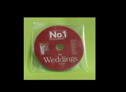 CD DVD in PVC Sleeve